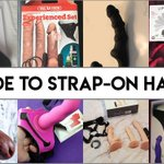 Image for the Tweet beginning: Big Guide To Strap-On Sex