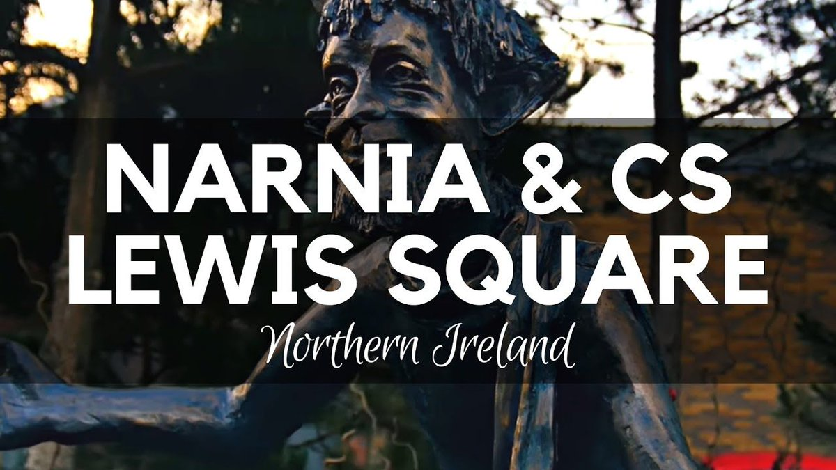 CS Lewis is remembered in his hometown - Belfast with the #Narnia Square - Amazing sculptures that show the key characters from the book  https://buff.ly/31Ow5zO  #Belfast #history #books #reading #history #cslewis #lewis #fiction