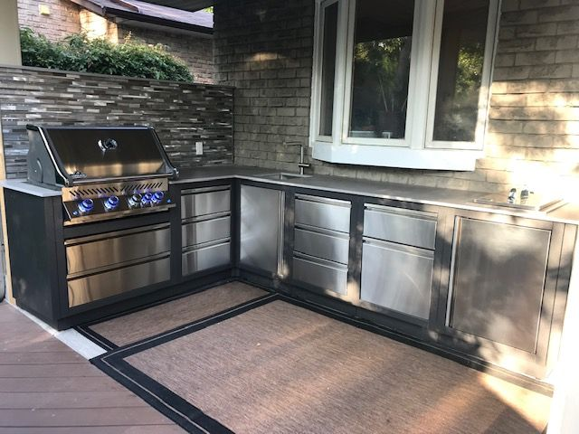 Barbecues Galore On Twitter One Of Our Customers Shared Pictures Of Their New Outdoor Kitchen That We Helped With Oasis Modular System From Napoleon Barbecuebutlers Napoleonproducts Outdoorkitchen Https T Co A2rztnf9zz