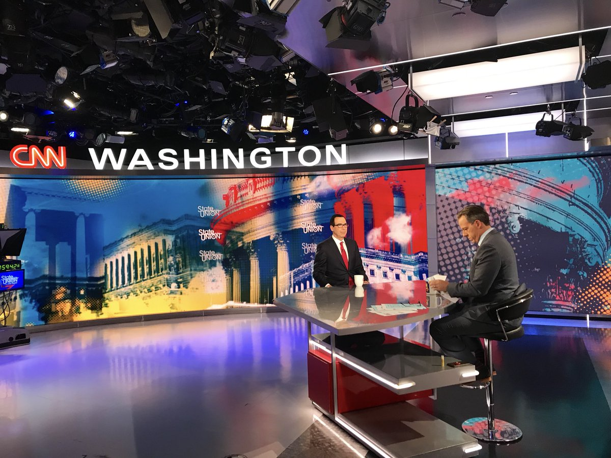 This morning, I joined @jaketapper on @CNNsotu to discuss Iranian sanctions and #UNGA.