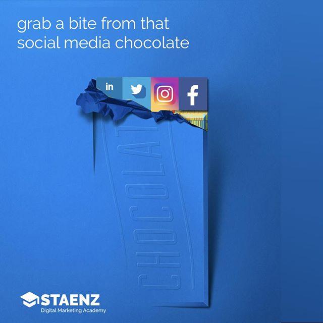 Reposting @staenzx: - via @Crowdfire  Do you want a bite from the social media chocolate? Grab some at Staenz  . . . . . #marketing #success #social #socialmediamarketing #socialmediaguru #socialmediamarketer #esocial #mediatakeout #versatilemedia #traditionalmedia #foodpornpic.twitter.com/F52MsAq5c3