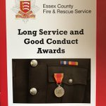 Image for the Tweet beginning: Delighted to present Long Service