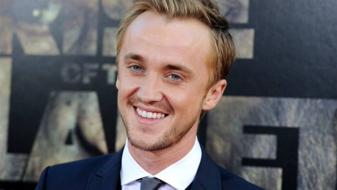 Tom Felton, ator que deu vida ao sonserino Draco Malfoy, está completando 32 anos hoje!  Happy Birthday