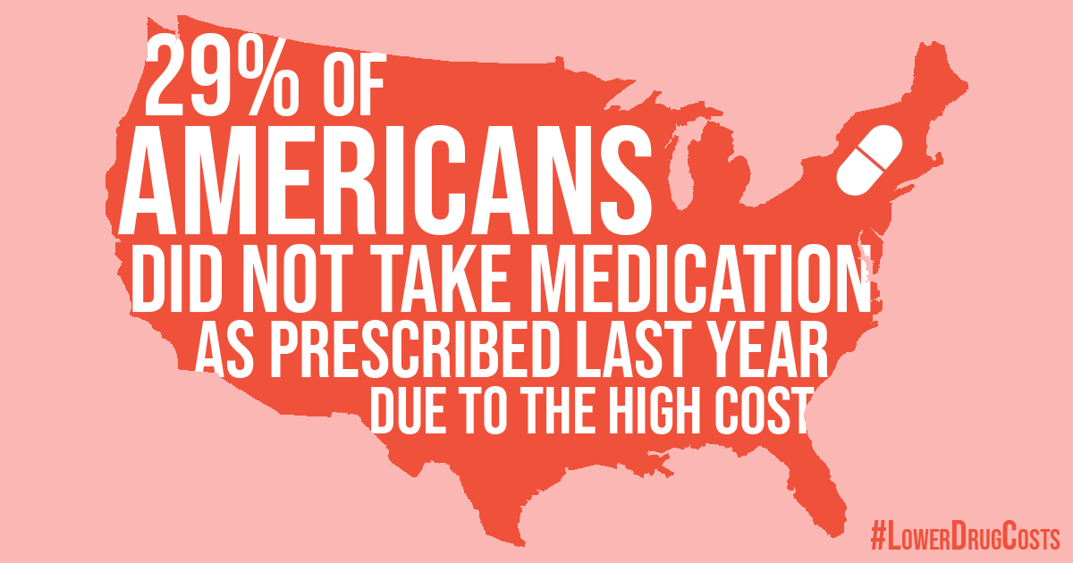 House Democrats are fighting to #LowerDrugCosts because no American should have to choose between putting food on the table and taking life-saving prescription medication. #ForThePeople