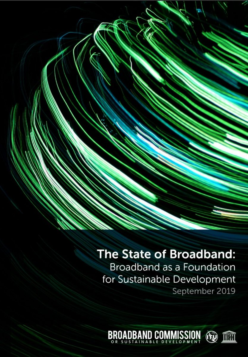Global Internet growth stalls and focus shifts to 'meaningful universal #connectivity' to drive global development itu.int/en/mediacentre… @UNBBCom State of #Broadband report underscores urgent need to find new ways to reach the half of the world still unconnected #ICT4SDG