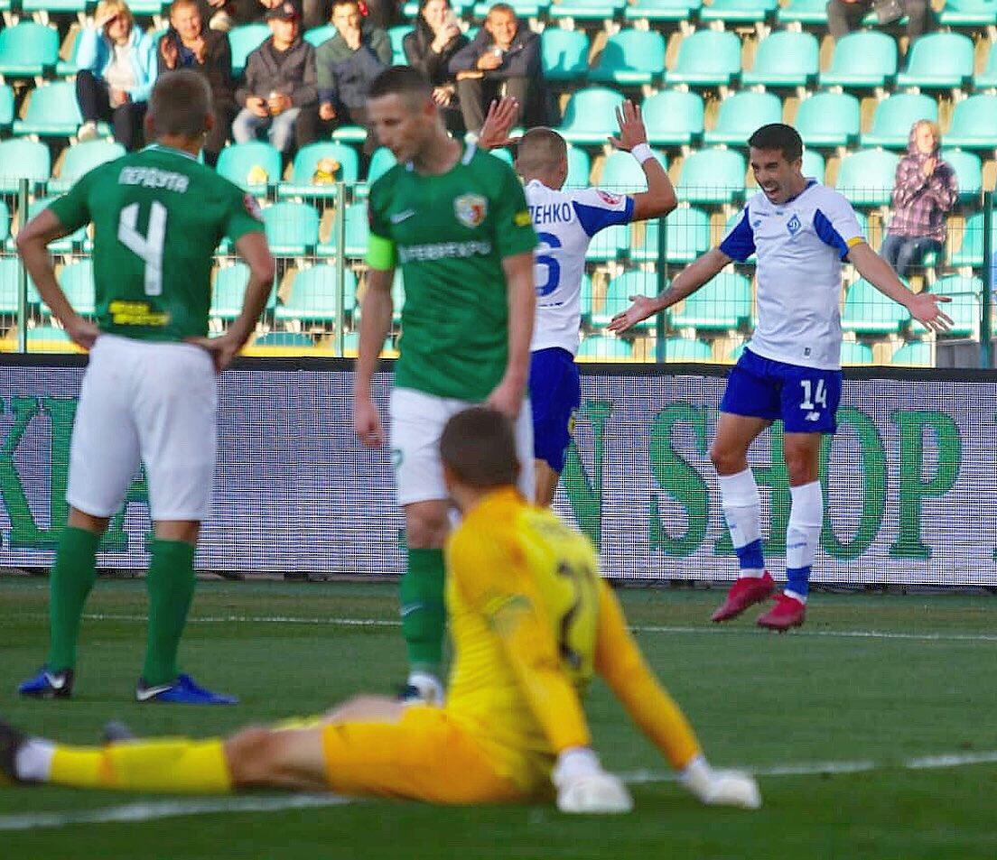 Carlos de Pena, Dynamo Kiev