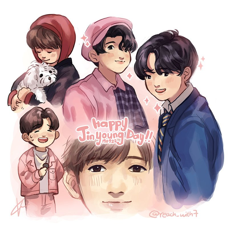 Our Jinyoung who always takes care of GOT7 and IGOT7, who always works so hard for everything,   Thank you  Happy Birthday   You are already a shining star  #HeyGuysItsJinyoungDay #녕긔탱긔_생일이긔 #진영 #Jinyoung #GOT7fanart <br>http://pic.twitter.com/lfZ6y7uJXS