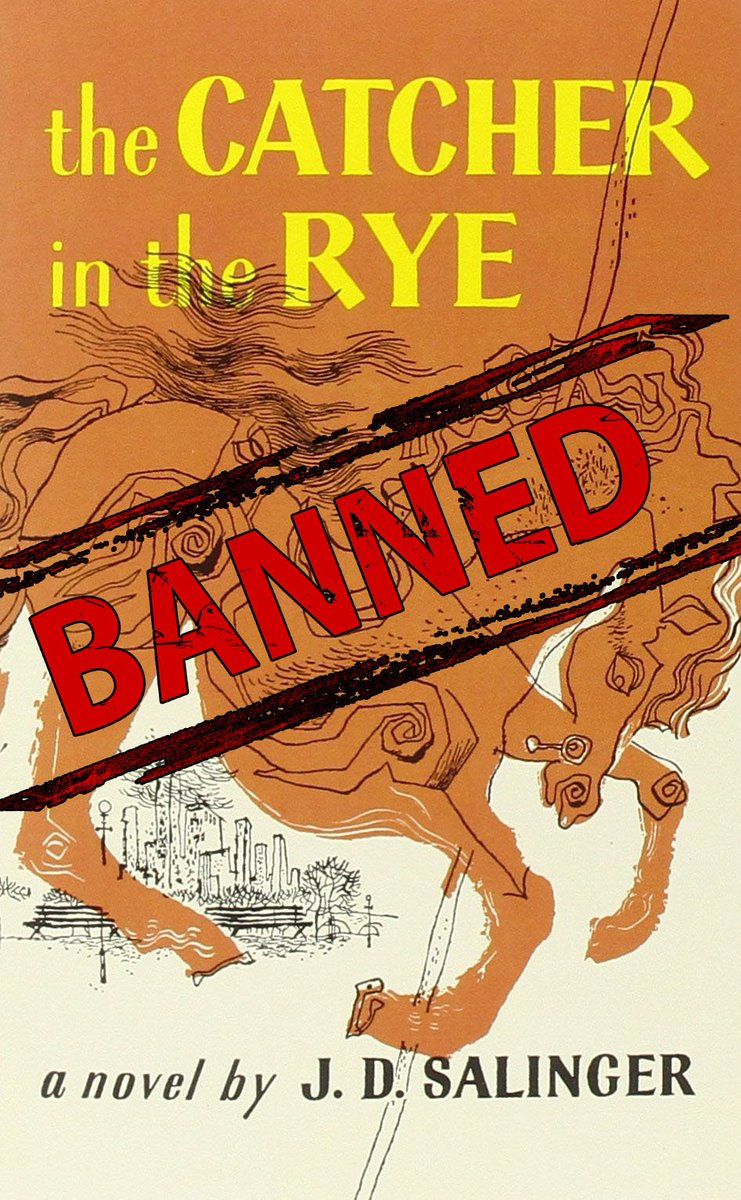 Emma Markham On Twitter Catcher In The Rye Banned In Some States Due To Anti White Message