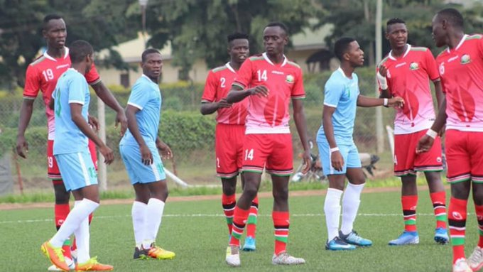 , On Fire Kenya U20 to Face Burundi in Cecafa Quarter Finals