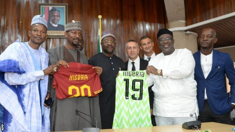 AS Roma have signed an agreement with the Nigeria Football Federation (NFF) to become their first African partner.In full: https://bbc.in/2kMSJs0#bbcfootball