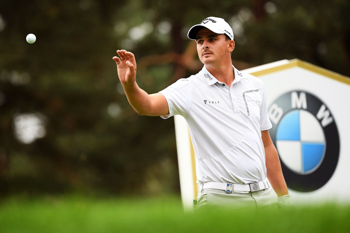 Superb week for @BezChristiaan at the @BMWPGA. Well done Rambo. Very proud. ♥️
