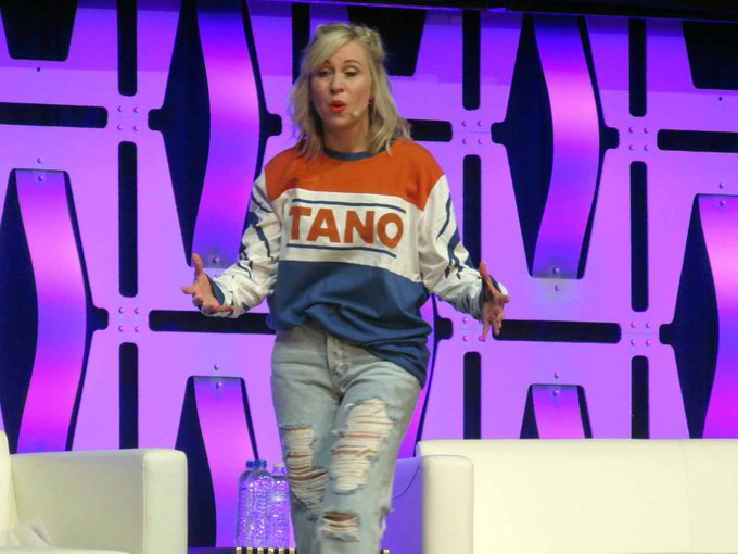 Happy Birthday to the amazing Ashley Eckstein, founder of and voice of