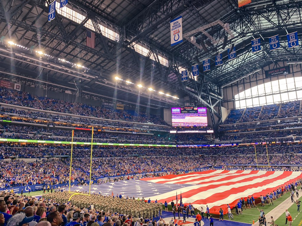 It's time for #ATLvsIND. LET'S GO COLTS