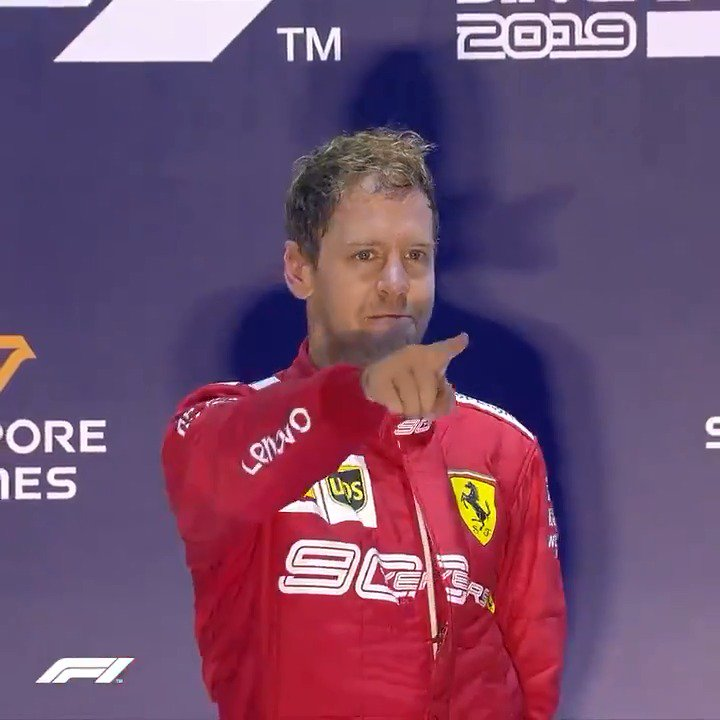 All the emotion of that 392 day wait between wins, unleashed 🥺  #F1 #SingaporeGP