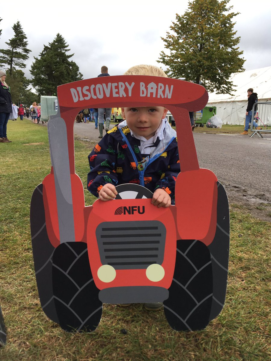 We've had a fantastic time at the @Berkshire_show today. Great to catch up with @NFUtweets @nfum