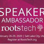 Image for the Tweet beginning: RootsTech 2020 Salt LakeCity
