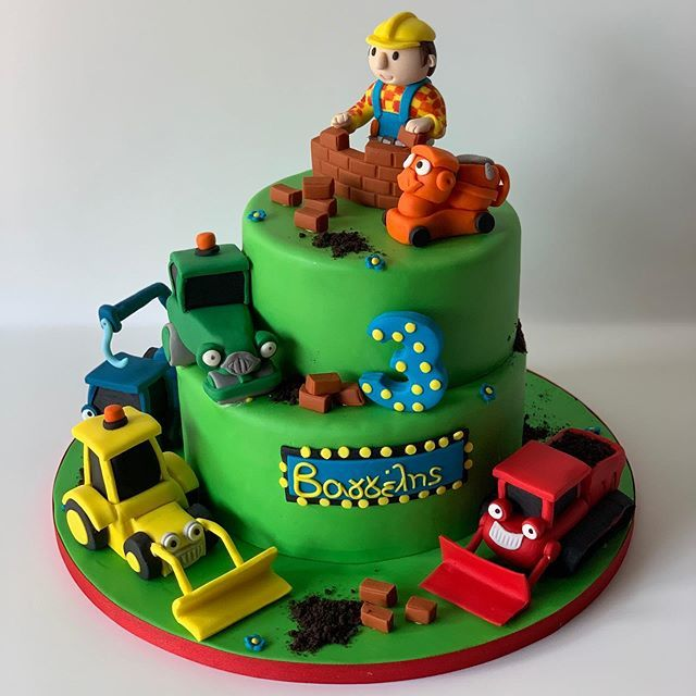 Brilliant Mania Delou On Twitter Bob The Builder Bobthebuilder Cake Funny Birthday Cards Online Elaedamsfinfo