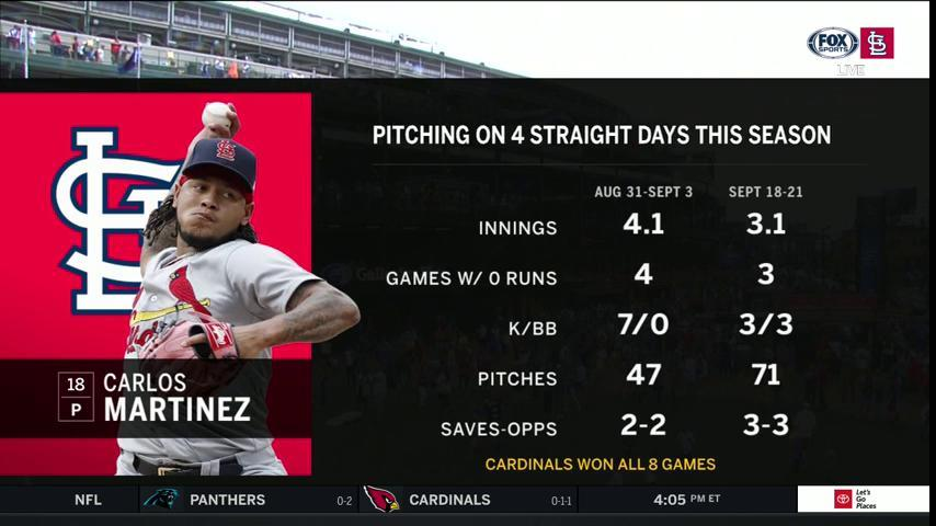 Carlos seems to get better the more he works. #TimeToFly