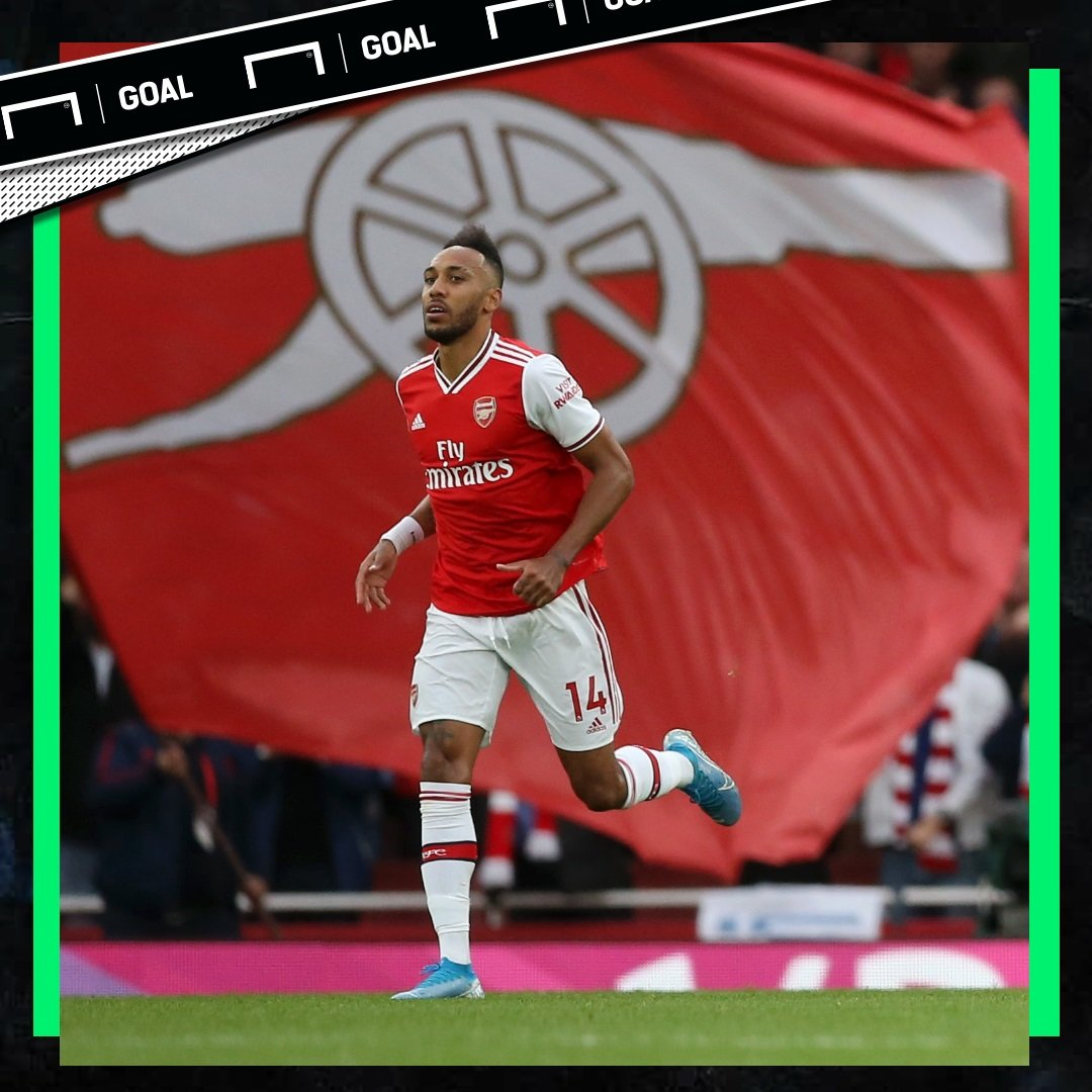 Pierre-Emerick Aubameyang has scored 16 goals in his last 16 games across all competitions for Arsenal   <br>http://pic.twitter.com/JQsoIMfKUe
