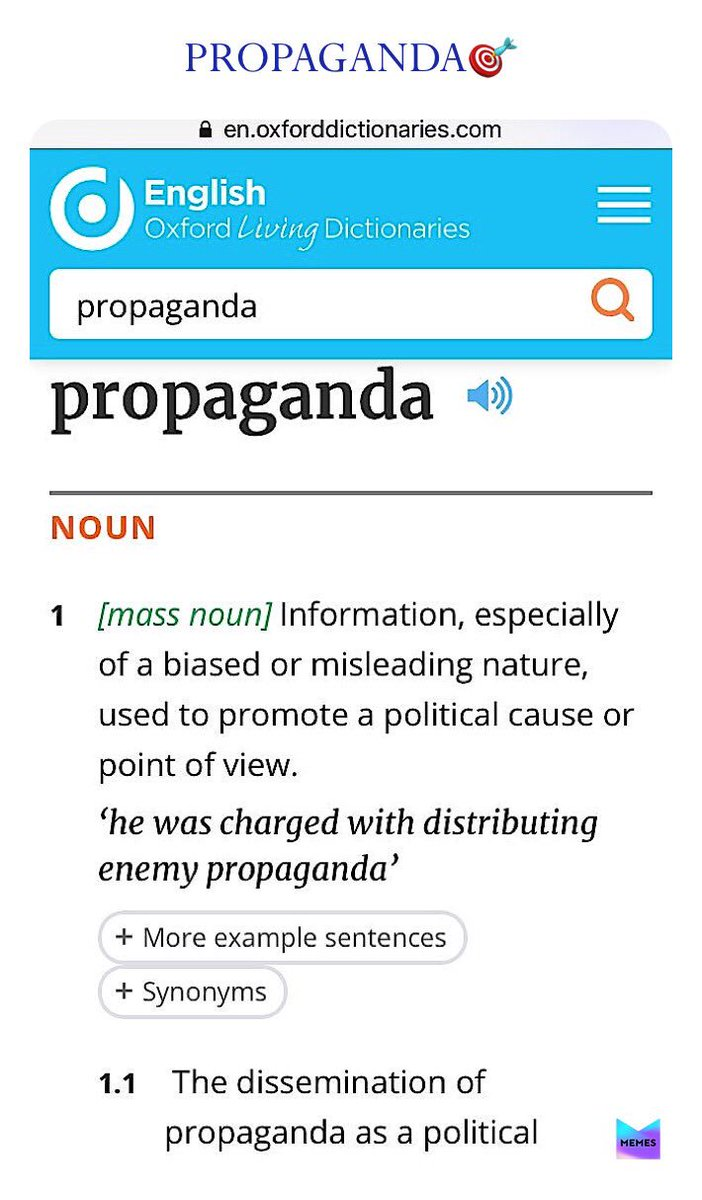 Trvmp's lackeys dish up PROPAGANDA. They serve an AMORPHOUS fantasy. They try to legitimize Trvmp's LAWLESSNESS. PROPAGANDA is meant to MISLEAD. WE must reject PROPAGANDA wholesale. WE must ALWAYS counter propaganda with TRUTH. Trvmp BETRAYED the CONSTITUTION! #OneVoice1 twitter.com/narceducator/s…