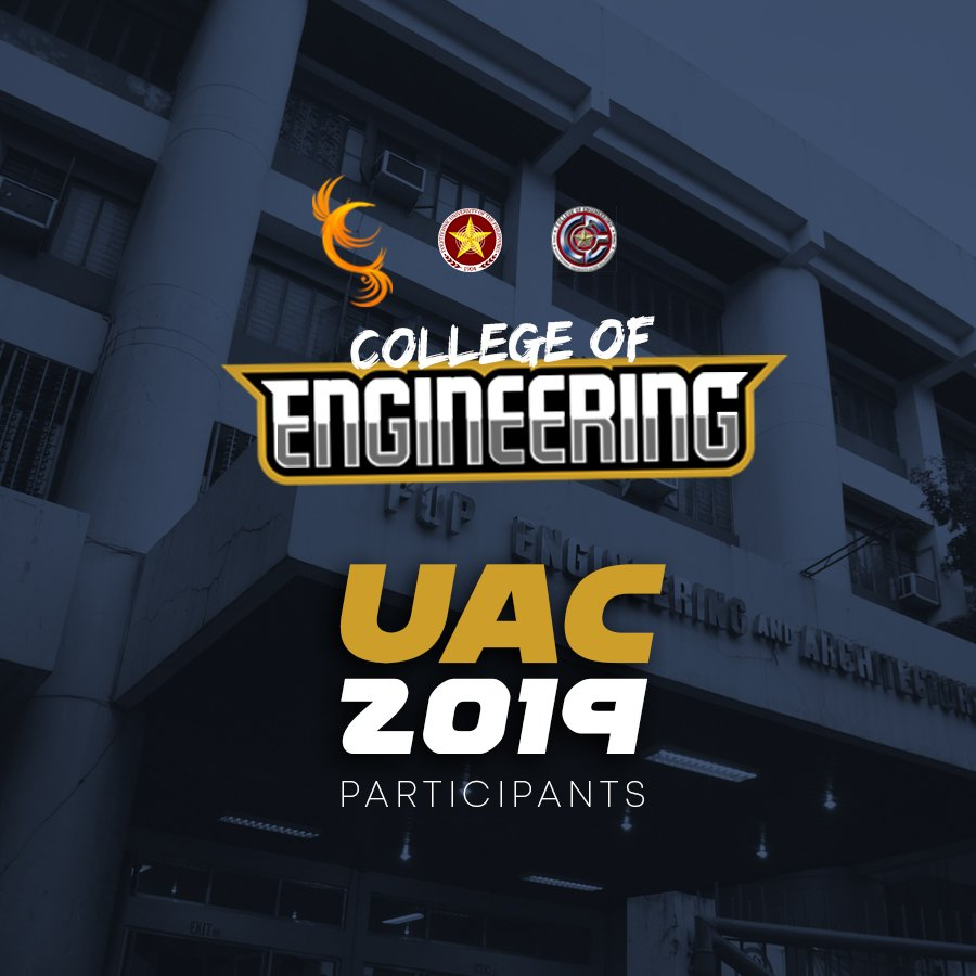 Engineering! Join us later, at the Bulwagang Balagtas, 4th Floor ICTO Building in support of our quizzers for the University Academic Competitions  <br>http://pic.twitter.com/rVidQrvXCe