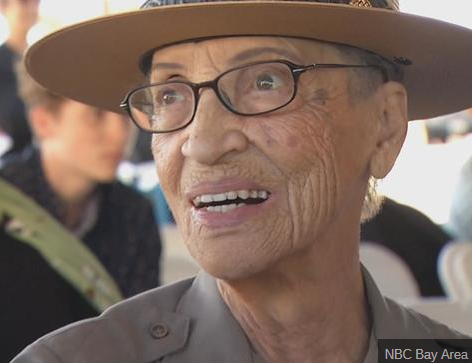 The Nations oldest living active Park Ranger has suffered a stroke, 98 year old Betty Reid Soskin from the Rosie the Riveter visitor center in Richmond, CA is comfortable and recovering. Today is her 98th birthday. @nbcbayarea @RosieRiveterNPS