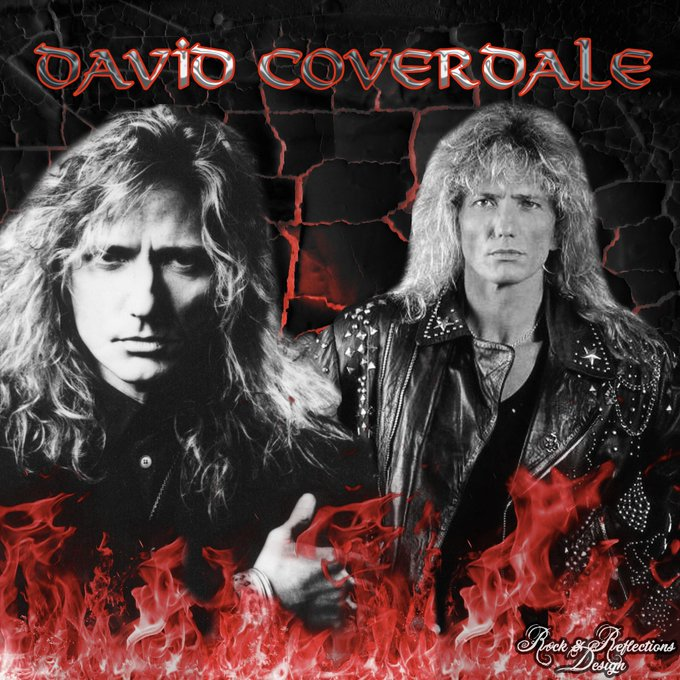 Happy Birthday to one of my favorite 80s stars David Coverdale!