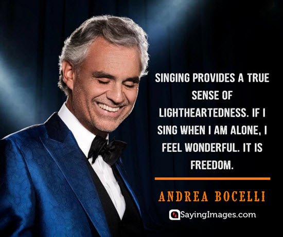 Happy 61st Birthday to Andrea Bocelli, who was born in Lajatico, Italy on this day in 1958.