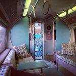 In awe of our mobile tube carriage that was kitted out by @KirkbyDesign for @designlondon. 💕