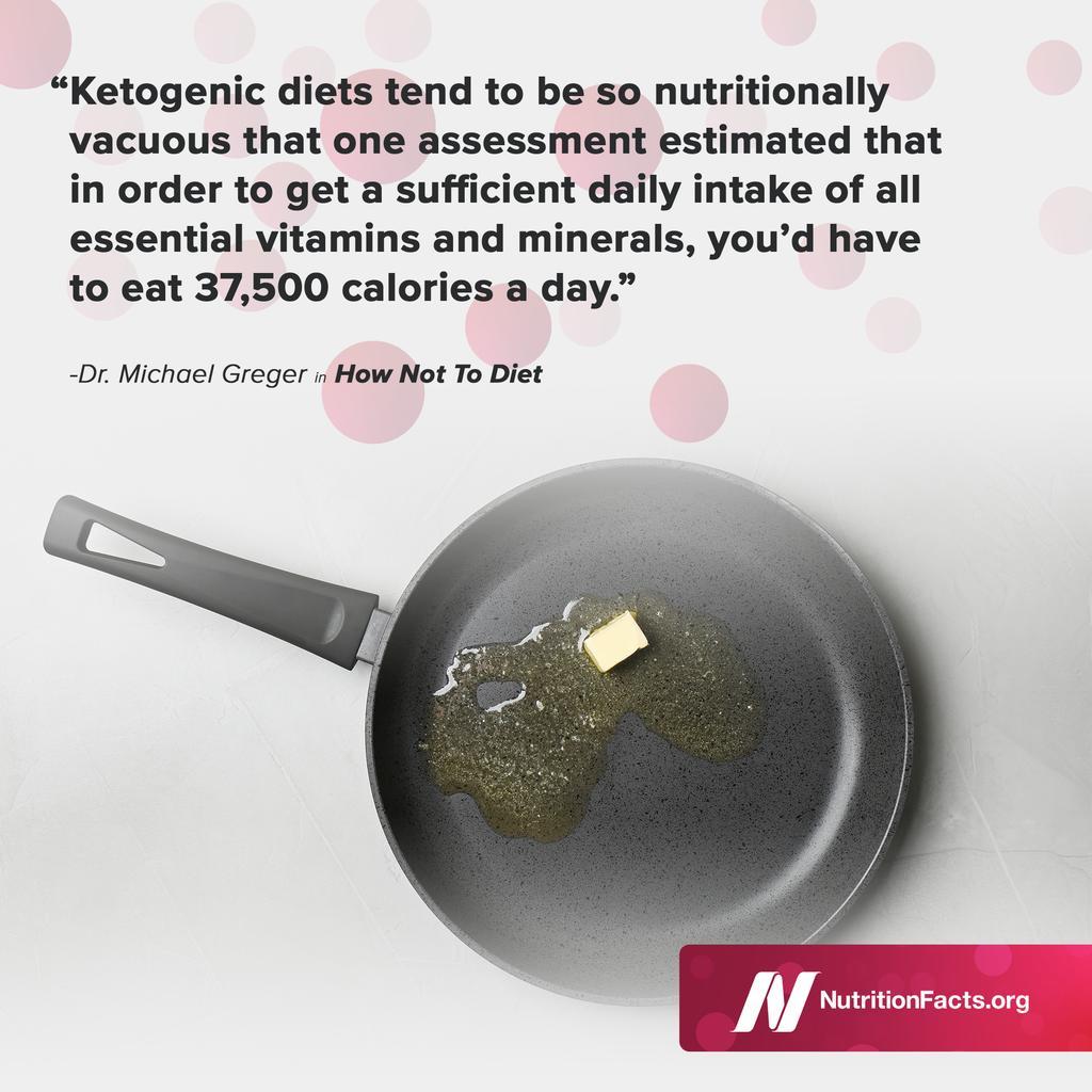 dr greger on keto diet