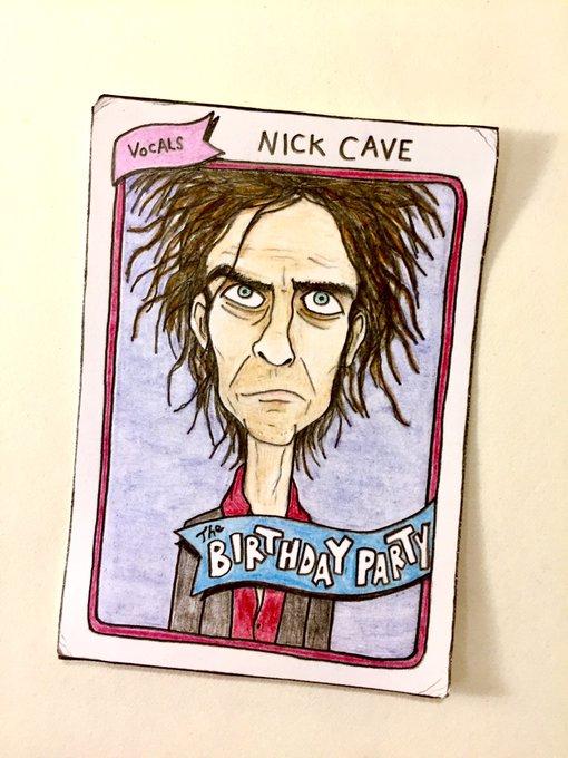 Happy birthday, Nick Cave!