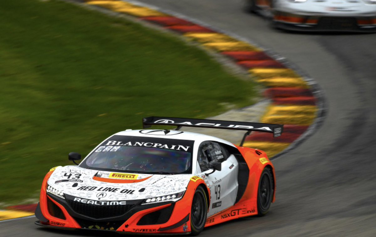 #GTWorldCh #America | 100th win for @RealTimeAcura, on their home track and an overall win! #GTRA #WindowWorld