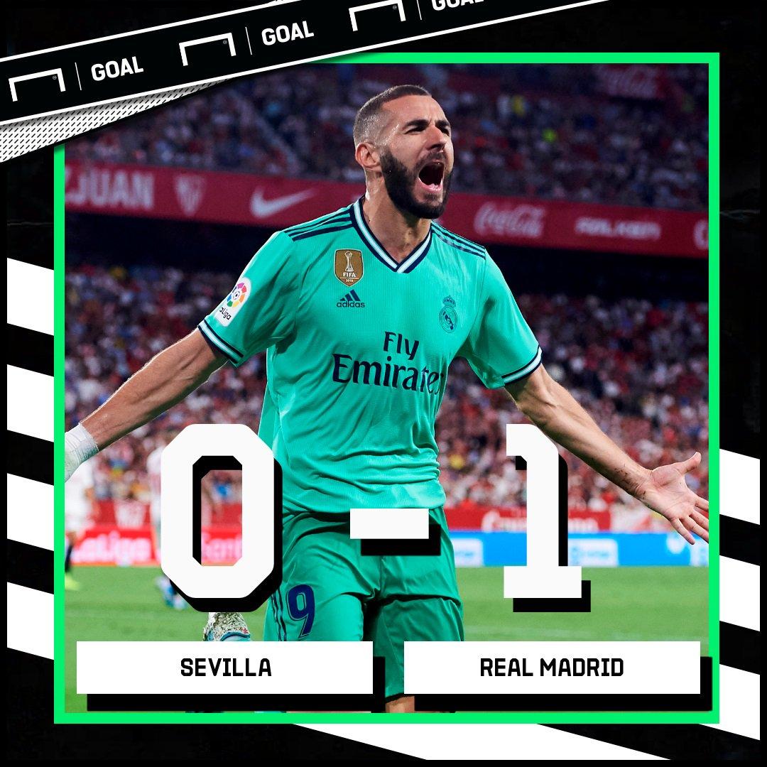 Goal Indonesia On Twitter Ft Sevilla 0 1 Real Madrid Https T Co Wddg0cmpv7 Sevrma Laliga Matchdaygoal