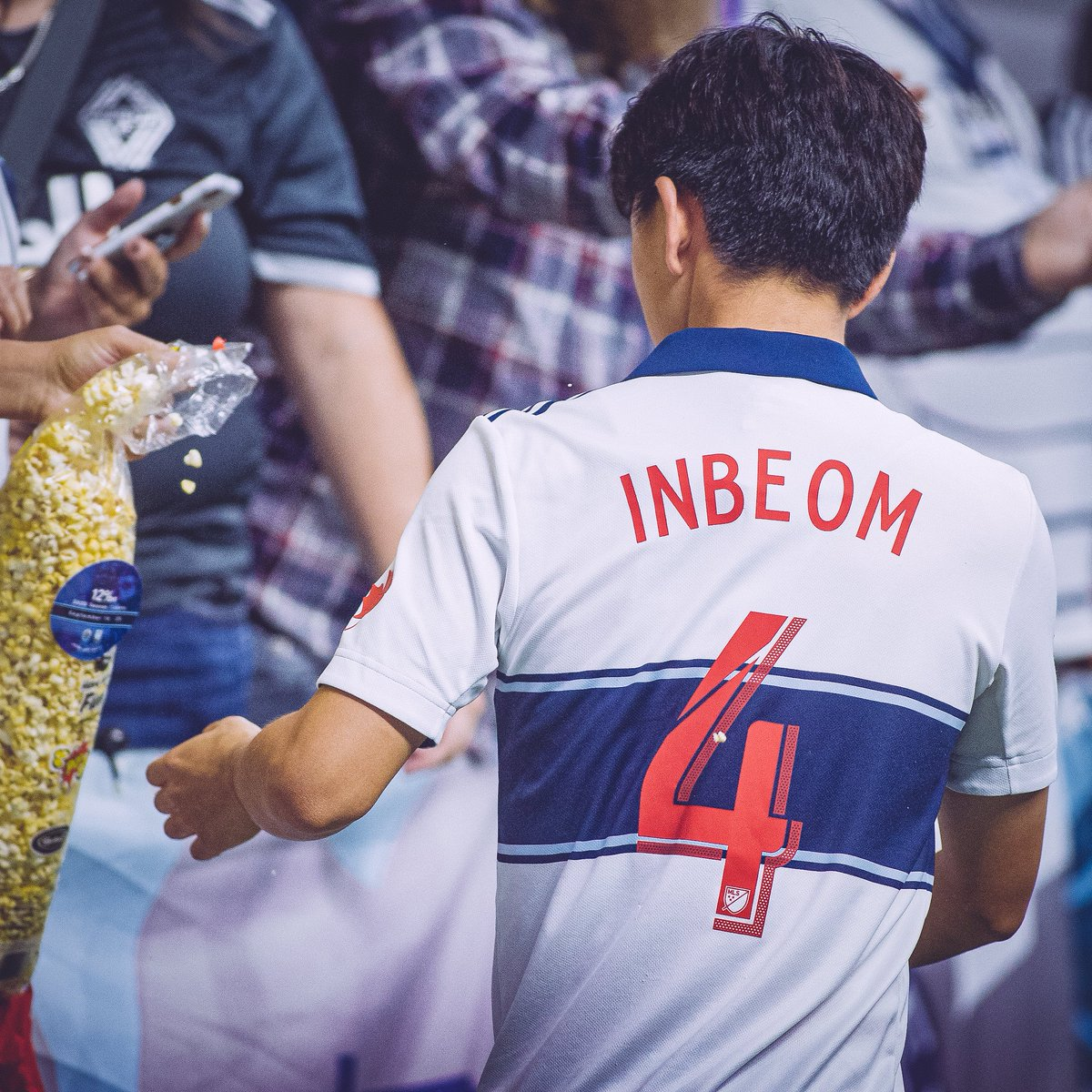 12 DAYS OF GIVEAWAYS   Cause 4 celebration. We're giving away 4 Inbeom jerseys!   RT for your chance to win. *popcorn not included*  4 days left to save 12% on 2020 season tickets :  http:// ow.ly/pYAW50w9fOx     <br>http://pic.twitter.com/DSnSnR3QNm