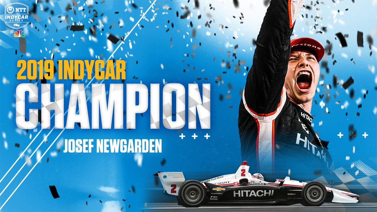 .@josefnewgarden is now a two-time @IndyCar Series CHAMPION! 🏆🏆