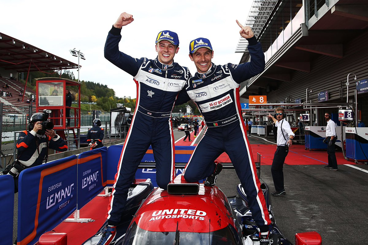 The first team since 2016 to be fastest in all @EuropeanLMS sessions, score pole and win the race 🥇 (that's the only team in the current LMP2 era) also the first team to win from pole since then too @AlbuquerqueFil @PhilHansonRace #BeUnited