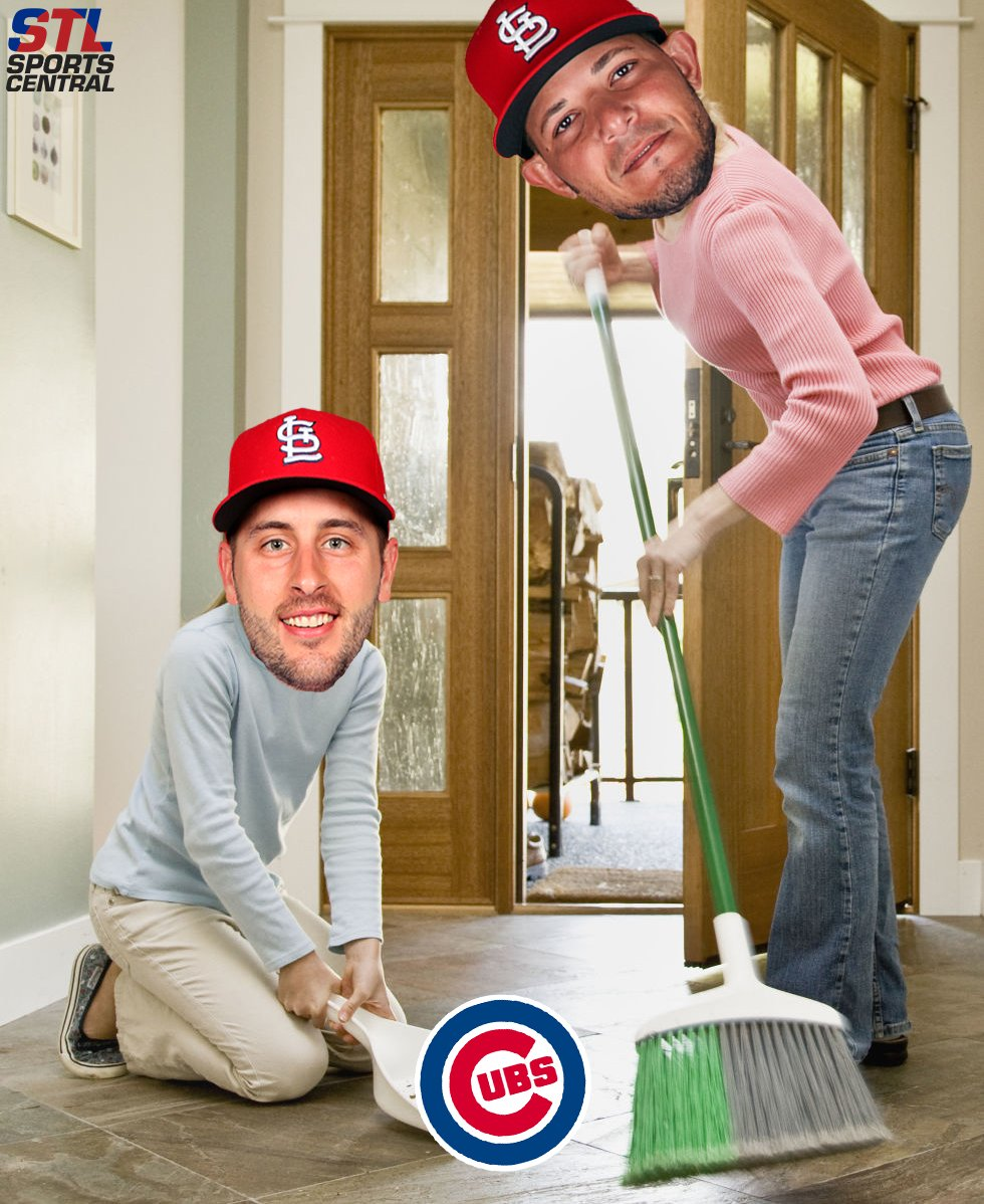 THE FIRST FOUR-GAME SWEEP AT WRIGLEY SINCE 1921! #STLCards