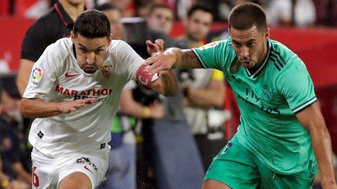 RT @RealEspartaB: Eden Hazard robó los mismos balones que Casemiro (8) en el partido ante el Sevilla. https://t.co/e0SObJOJ9n
