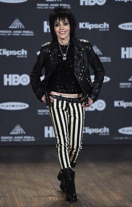 Happy birthday to Joan Jett, born September 22, 1958.