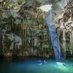 Image for the Tweet beginning: ¡Visita el cenote Xkeken en