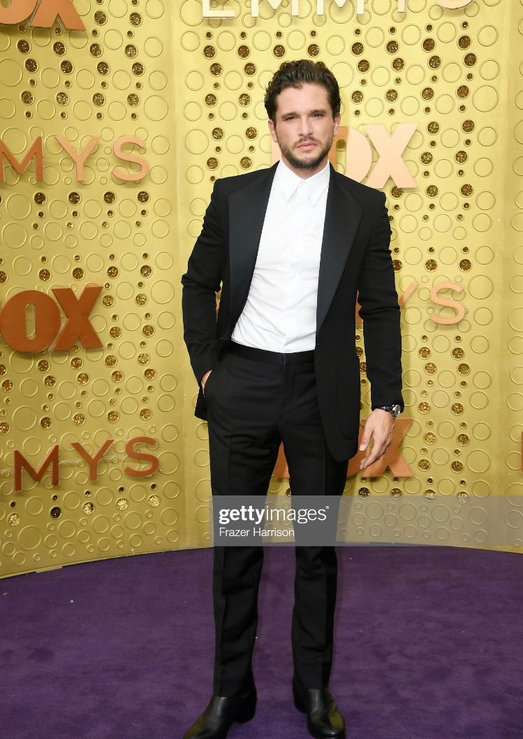 Its Lead Actor in a Drama Series nominee Kit Harington (Game of Thrones) #Emmys