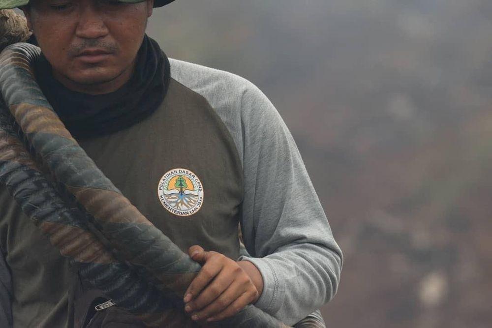 Good News From Indonesia On Twitter Jerumbun Dikepung Api Jerumbun Merupakan Area Reforestasi Friends Of National Park Foundation Fnpf Juga Merupakan Wilayah Penyangga Taman Nasional Tanjung Puting Teman Teman Sedang Berjuang Memadamkan