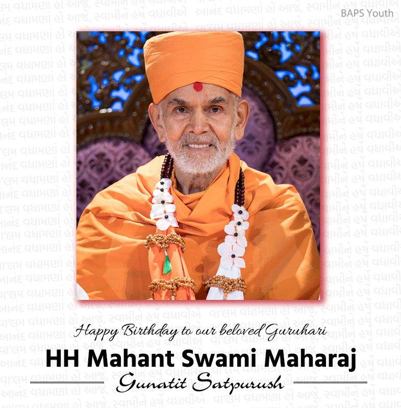 Happy New Year Mahant Swami 22