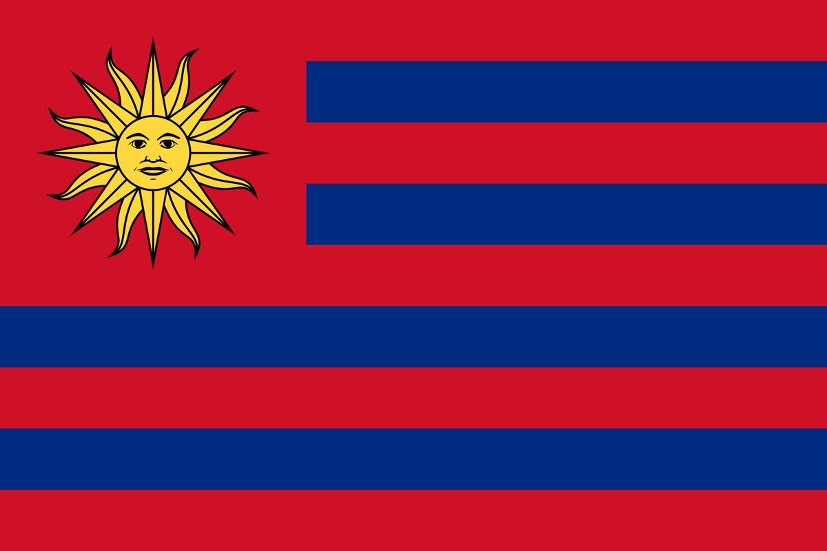 Mixed  (Liechtenstein) +  (Uruguay), and created this new country called Liechtguay: <br>http://pic.twitter.com/G3l595YUCJ