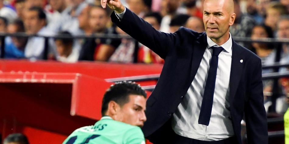 #LigaSantander 🇪🇸  Las palabras de Zidane que destacaron el trabajo de James en defensa ▶️ https://t.co/m0NnAm5qP0 https://t.co/vHEeShfQPu