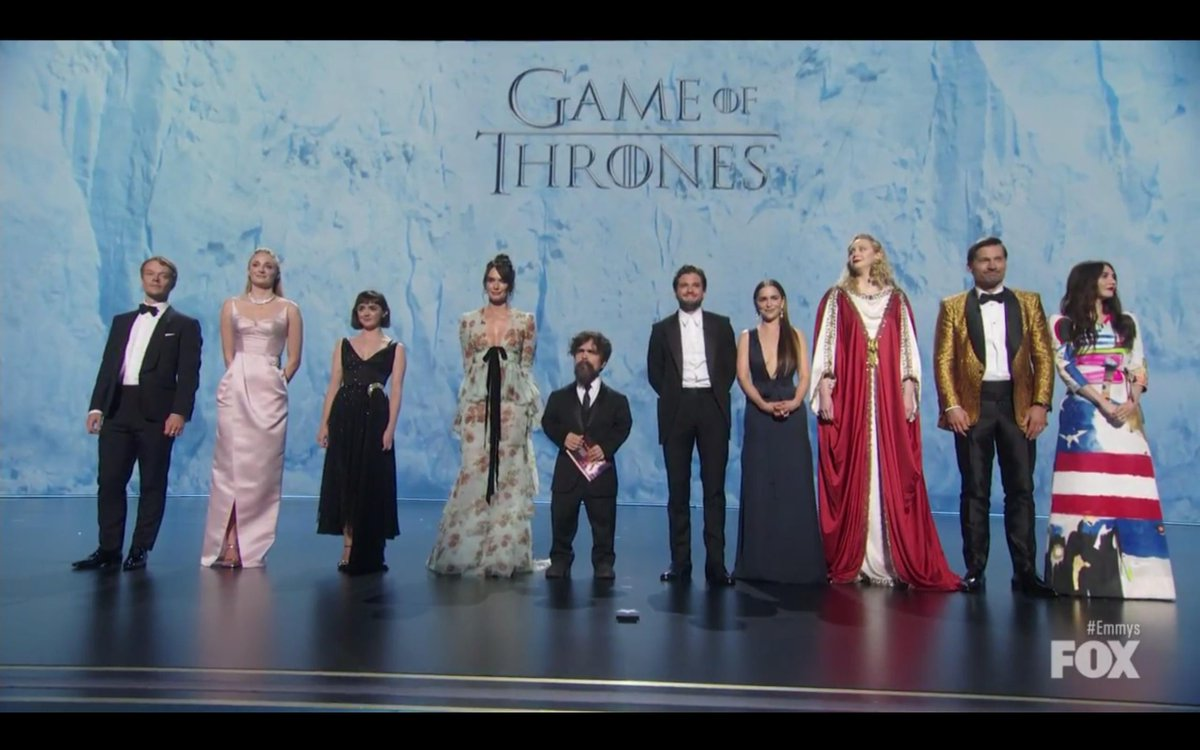 The Game of Thrones Cast Reunited at the Emmys, and People Are Emotional