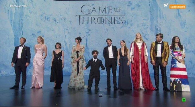 La familia Game Of Thrones. #Emmys