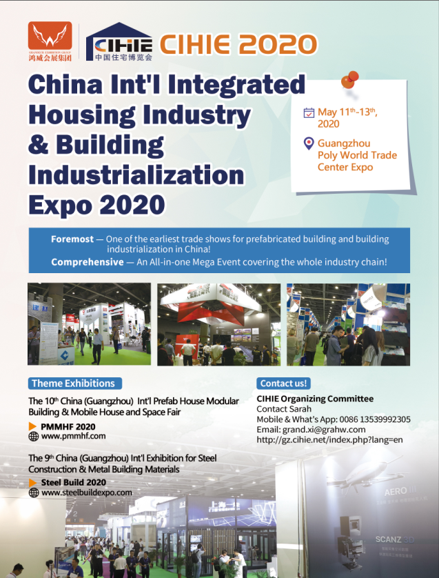 China Trade Fair 2020.Cihie 2020 Prefabricated Building Expo Pmmhfchina Twitter