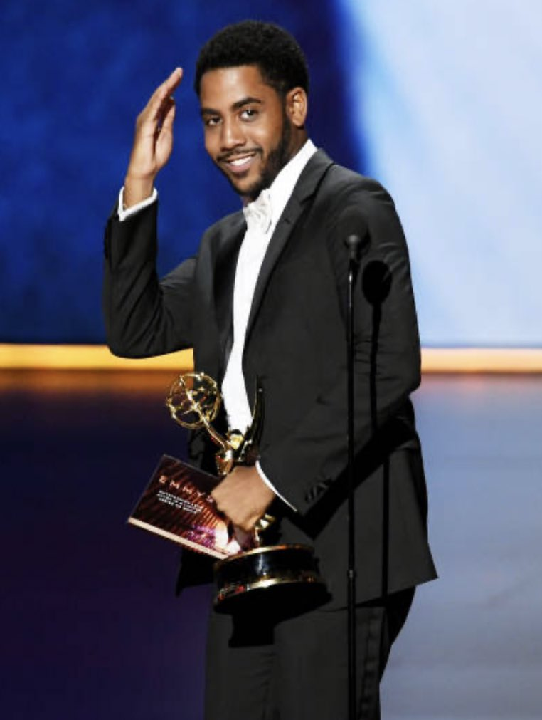 Congrats to Jharrel Jerome on winning an Emmy for Lead Actor in a Limited Series or Movie for his role in #WhenTheySeeUs #Emmys 💙🙌🏾