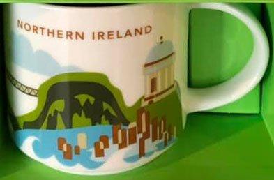 Starbucks You Are Here Northern Ireland Mug Has Been